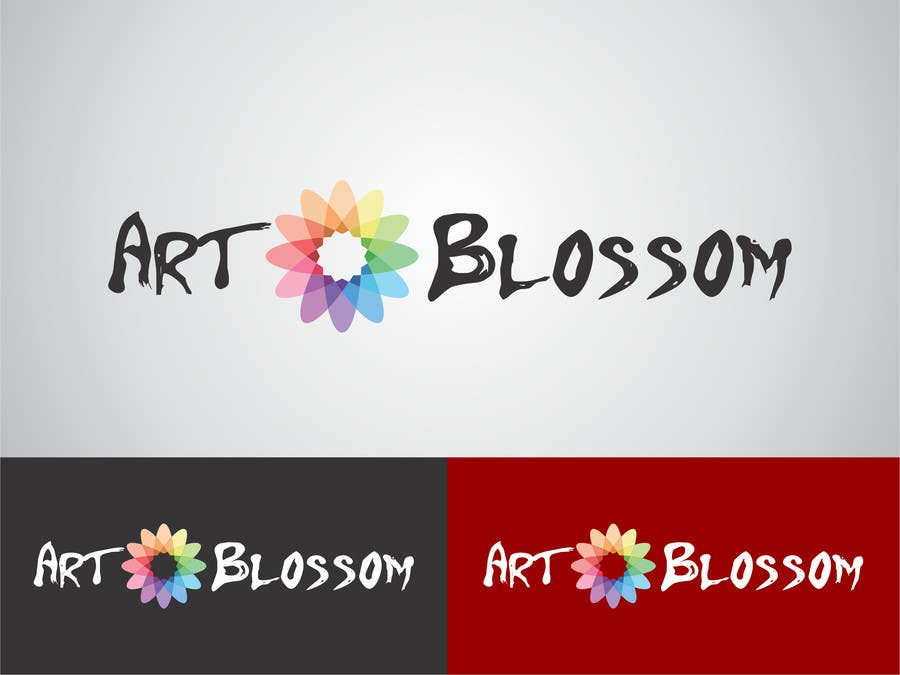 Logo for Russian graphic design company Art-blossom. için 93 numaralı Yarışma Girdisi