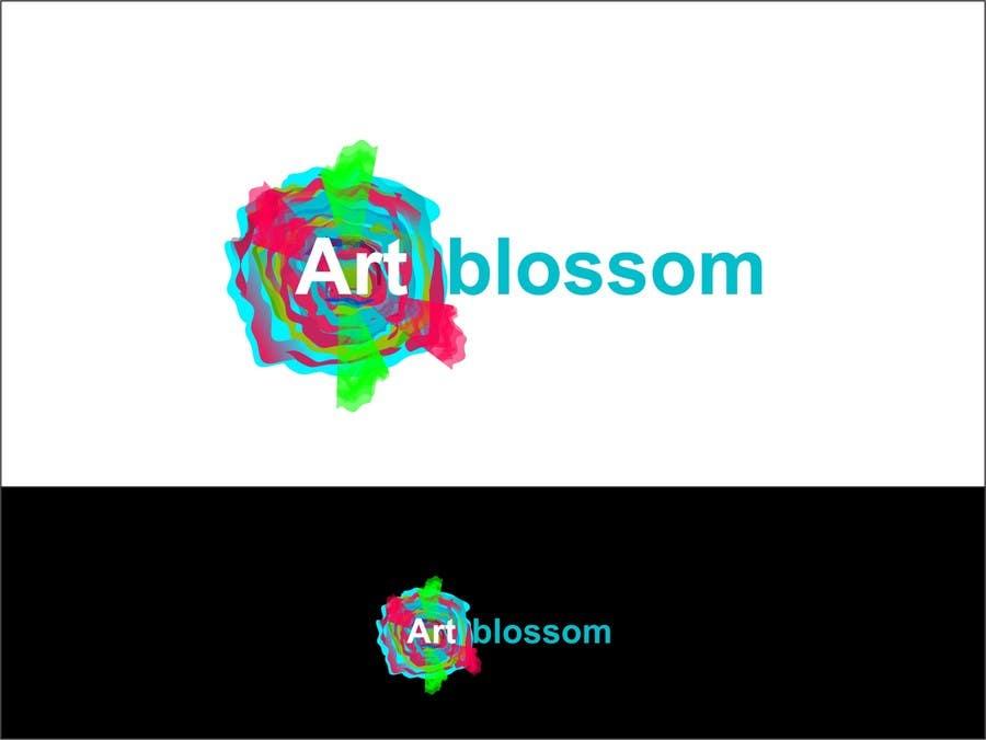 Logo for Russian graphic design company Art-blossom. için 66 numaralı Yarışma Girdisi