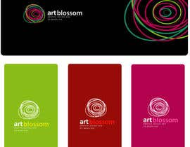 #355 cho Logo for Russian graphic design company Art-blossom. bởi saimarehan