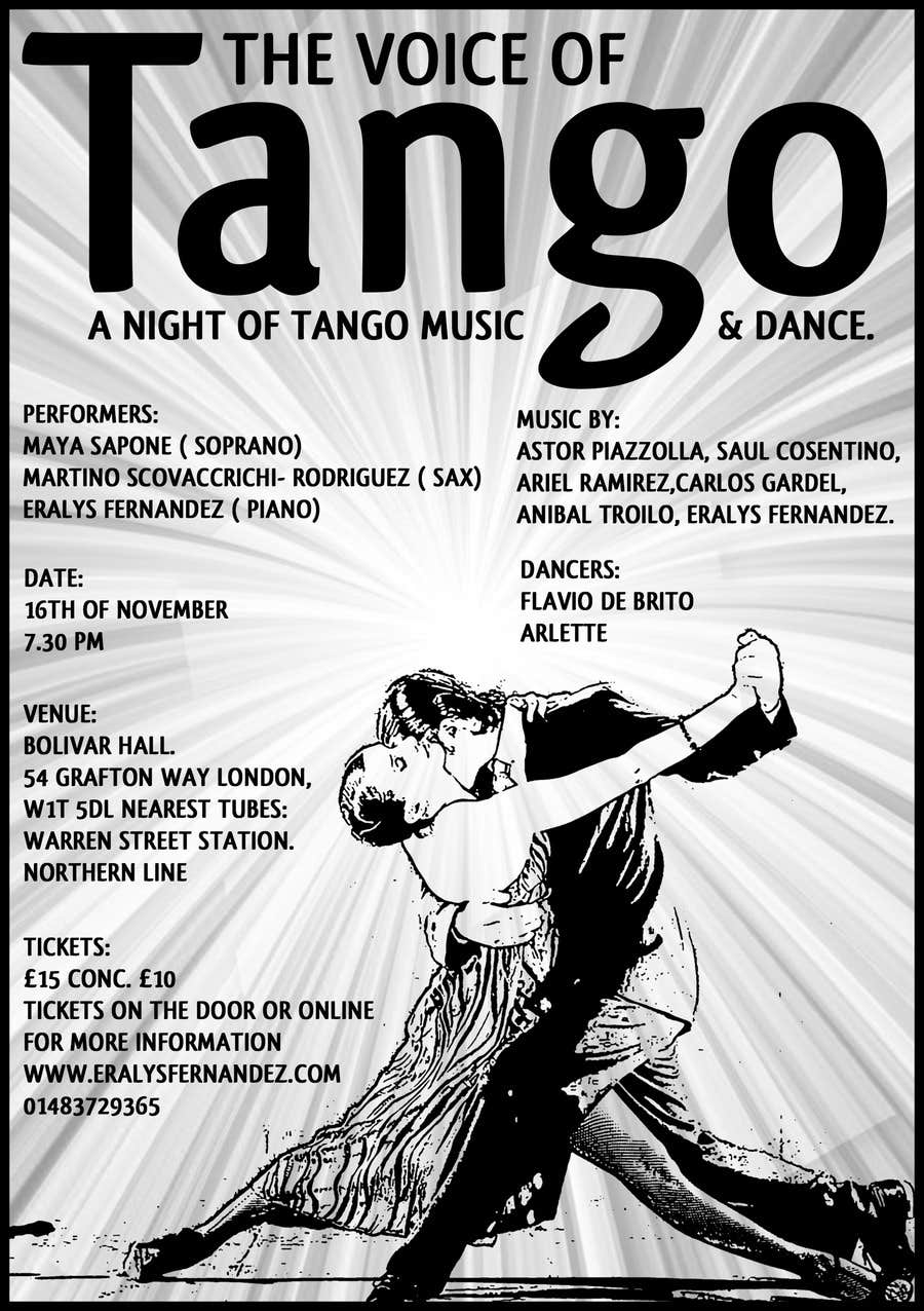#13 for The Voice of Tango by sanpatel