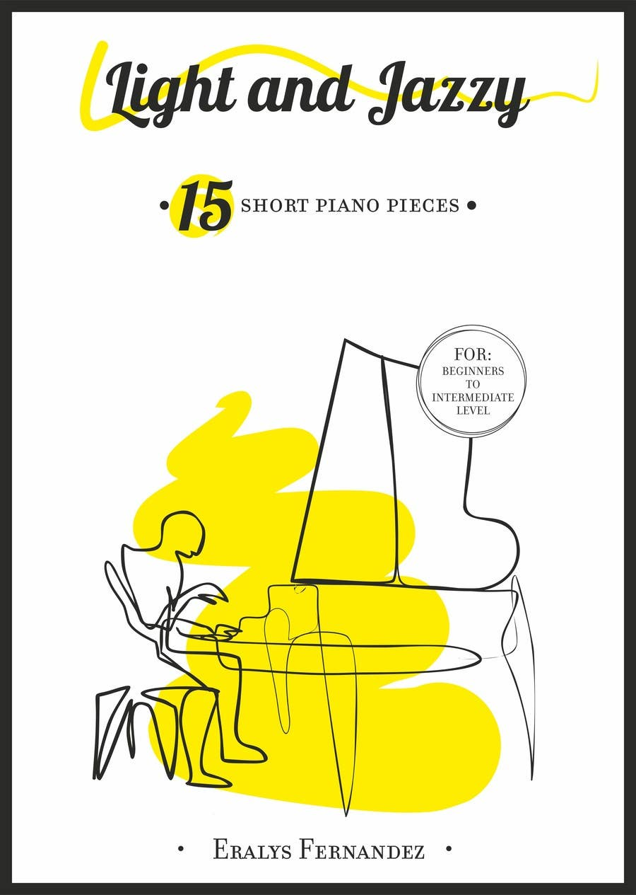 #23 for Cover for Piano Music Book by STUDIO510