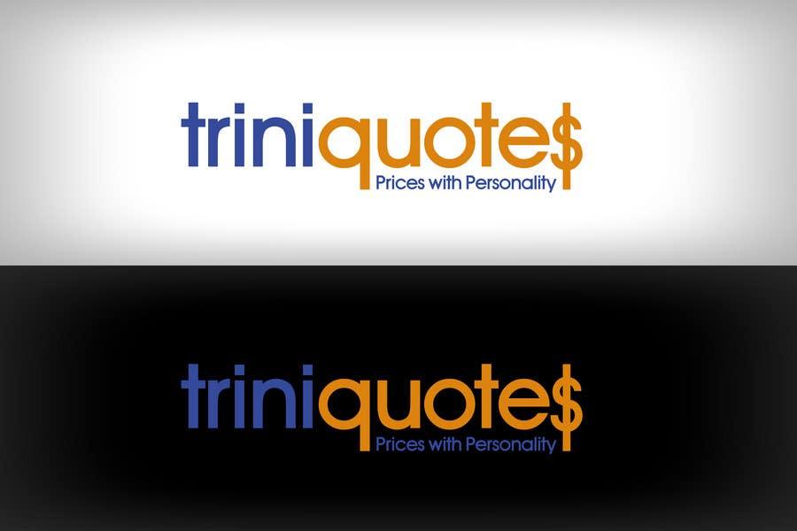 Contest Entry #                                        54                                      for                                         Logo Design for TriniQuotes.com