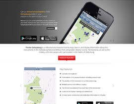 nº 2 pour Simple web site for smartphone app par Pavithranmm