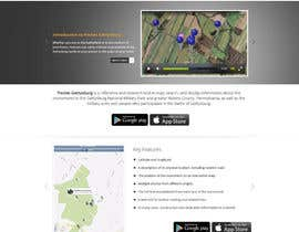 nº 4 pour Simple web site for smartphone app par Pavithranmm