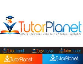 "#105 untuk Design a Logo for a business for the word ""Tutor Planet"" oleh inspirativ"