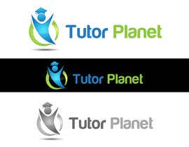 "#106 untuk Design a Logo for a business for the word ""Tutor Planet"" oleh bestidea1"