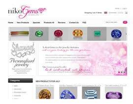 #28 for Design a Banner for Jewelry website af Designer0713