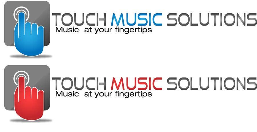 Kilpailutyö #29 kilpailussa Design a Logo for touchscreen jukebox company for website & stationary