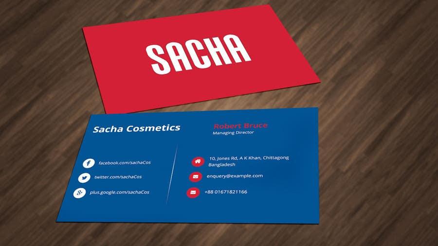Entry 74 by shakilaiub10 for cosmetics company business cards contest entry 74 for cosmetics company business cards colourmoves