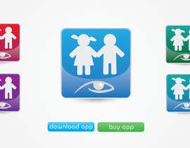 #20 for Design a Logo for our mobile app (parental control - watching kids activity ) af KiVii