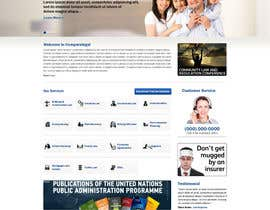#2 cho Home page design plus logo - legal site bởi nitinatom