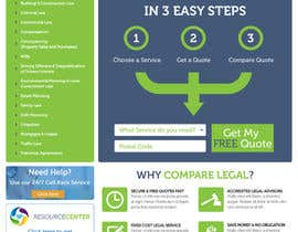 nº 6 pour Home page design plus logo - legal site par JosephNgo