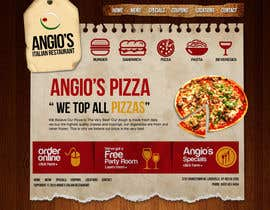 #29 for PSD for an Italian pizza restaurant web site. af arunnm89