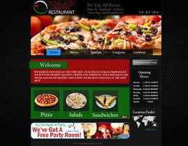 #19 for PSD for an Italian pizza restaurant web site. by hafizawais456