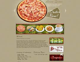 nº 36 pour PSD for an Italian pizza restaurant web site. par designBox16