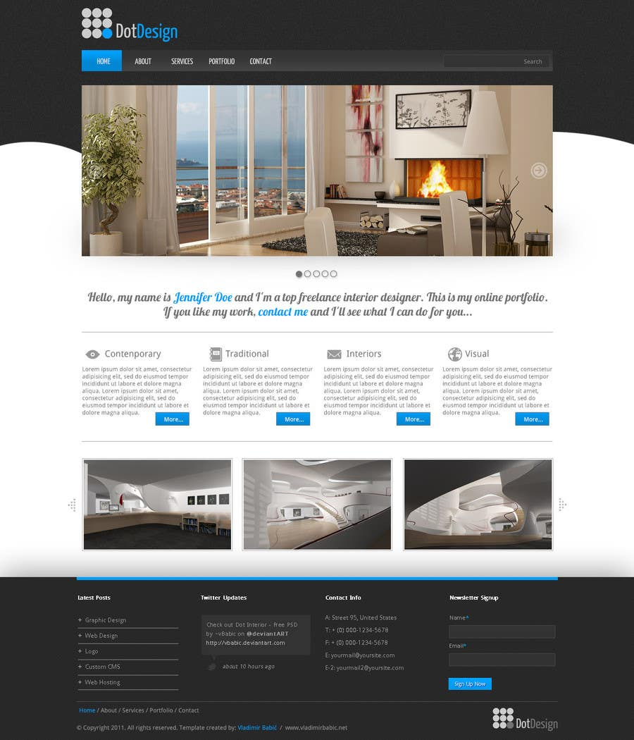 #2 for Home page design plus logo - Insurance site by SmartCreater007