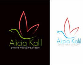 "#61 untuk Design a Name & Logo using ""Alicia Kalil - Your Personal Medical Travel Agent oleh rueldecastro"