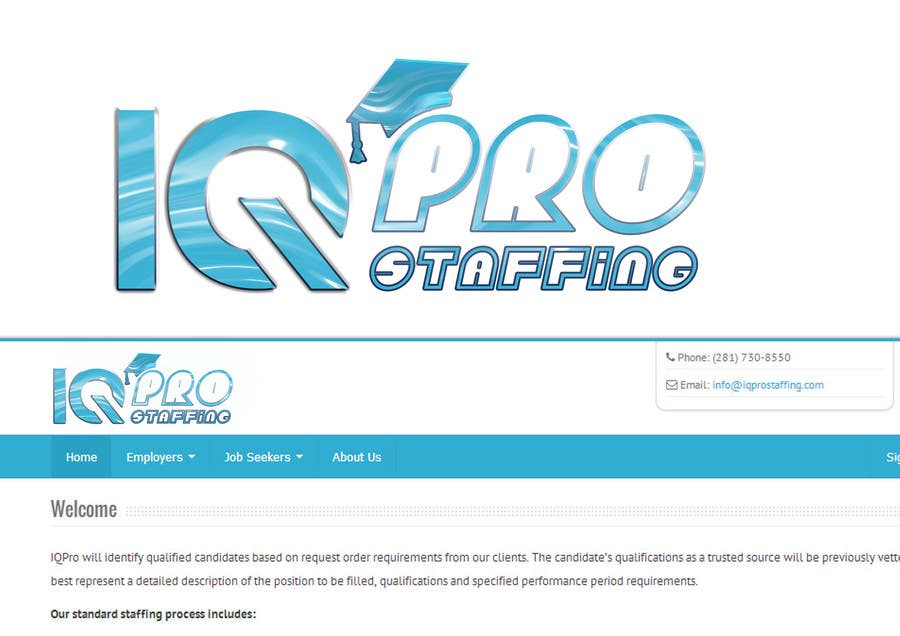 Bài tham dự cuộc thi #                                        15                                      cho                                         Develop a Corporate Identity for IQPro Staffing