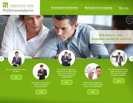 #101 pentru Website Design for small marketing consulting company de către r3x