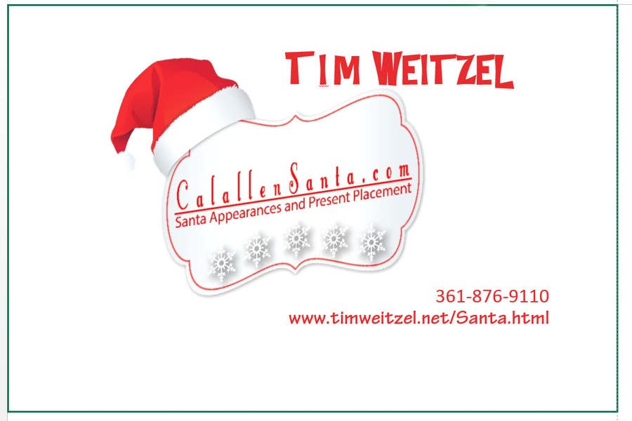 Comfortable santa business cards gallery business card ideas entry 1 by nycjobs for classy santa business cards freelancer colourmoves Gallery