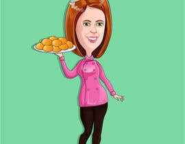#34 for Caricature of my wife for cookies af chuotgiay
