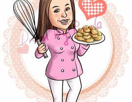 #30 for Caricature of my wife for cookies af wpurple