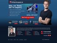 Bài tham dự #34 về Graphic Design cho cuộc thi Design a single Page Website with Logo for a PC repair service