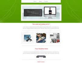 #36 para Design a single Page Website with Logo for a PC repair service por einstech
