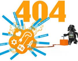 #11 for Design an image for a 404 page by filipstamate