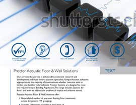#135 for Design an Advertisement for Acoustic Floor Solutions af echobravo