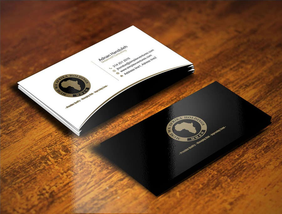 Entry #7 by gohardecent for Design a letterhead and Business Cards ...