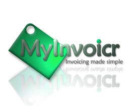 #84 for Logo Design for myInvoicr af DavidPinchen