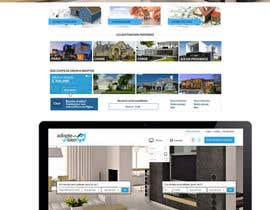 nº 11 pour Design a Website Mockup for a real estate website par SadunKodagoda