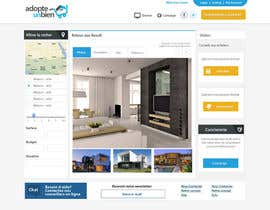 #17 para Design a Website Mockup for a real estate website por SadunKodagoda
