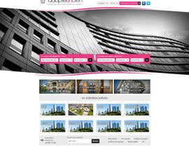 nº 20 pour Design a Website Mockup for a real estate website par dilip08kmar