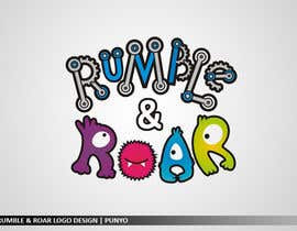 nº 17 pour Design a Logo for Rumble and Roar par punyo