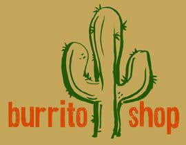 nº 98 pour Logo Design for burrito shop par nathanshields