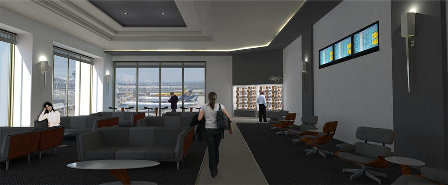 Contest Entry #                                        21                                      for                                         CGI Interior Design First Class Airline Lounge