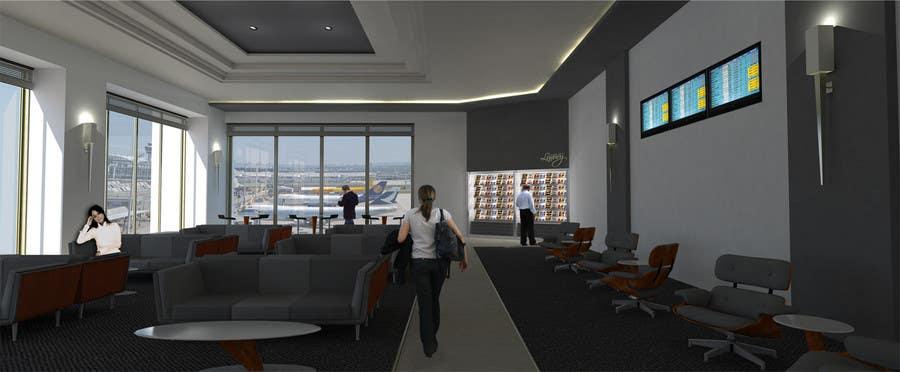 Kilpailutyö #                                        21                                      kilpailussa                                         CGI Interior Design First Class Airline Lounge