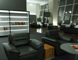 #9 для CGI Interior Design First Class Airline Lounge от marcoartdesign