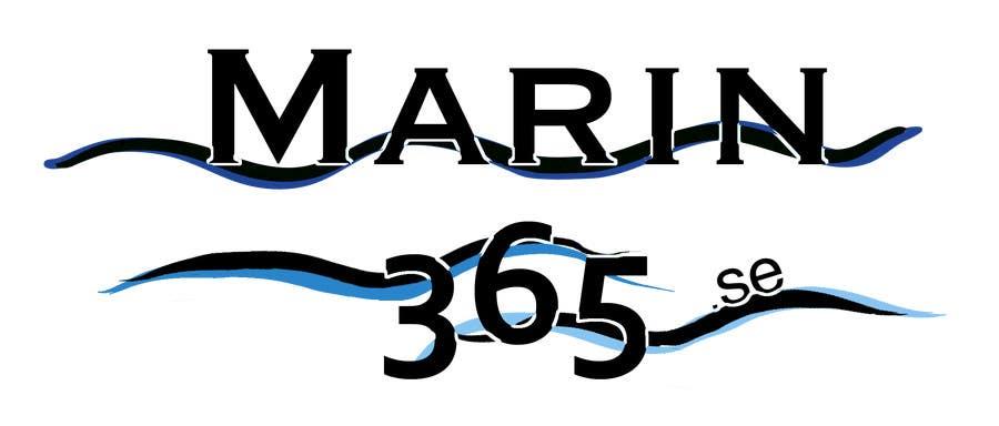 Logo design Marin365.se için 10 numaralı Yarışma Girdisi