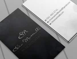 #39 untuk Design Spot UV Business Card for Fashion Designer oleh elcnozdmr