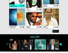 Nro 40 kilpailuun Design a Website Mockup käyttäjältä Psynsation