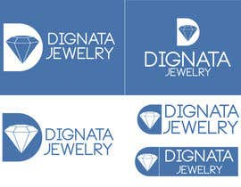 #71 para Design a Logo for Dignata Jewelry por fouziaali22