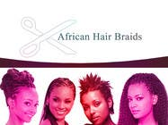 Contest Entry #27 for Design a Small Logo for www.AfricanHairBraids.com.au
