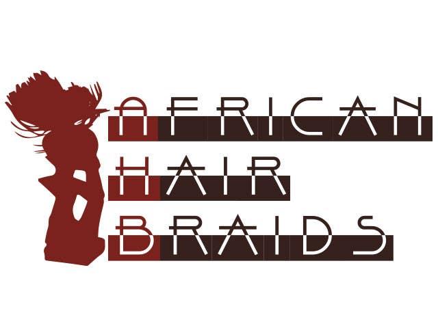Penyertaan Peraduan #15 untuk Design a Small Logo for www.AfricanHairBraids.com.au