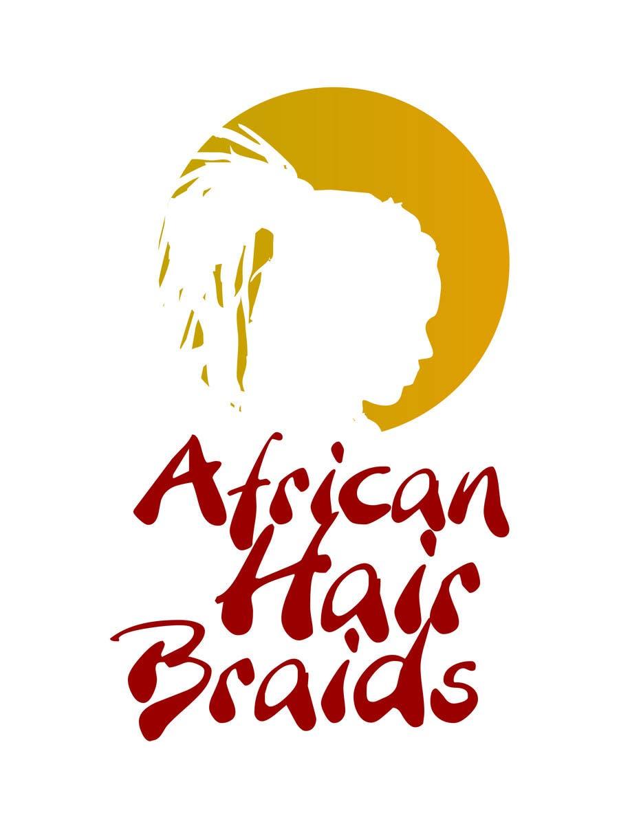 #2 for Design a Small Logo for www.AfricanHairBraids.com.au by Allnorton