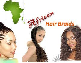 #1 for Design a Small Logo for www.AfricanHairBraids.com.au af Yerabilli