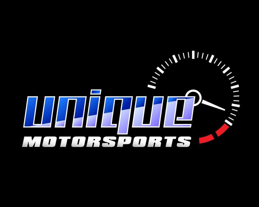 Penyertaan Peraduan #104 untuk Design a Logo for Unique Motorsports