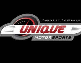 nº 35 pour Design a Logo for Unique Motorsports par thimsbell